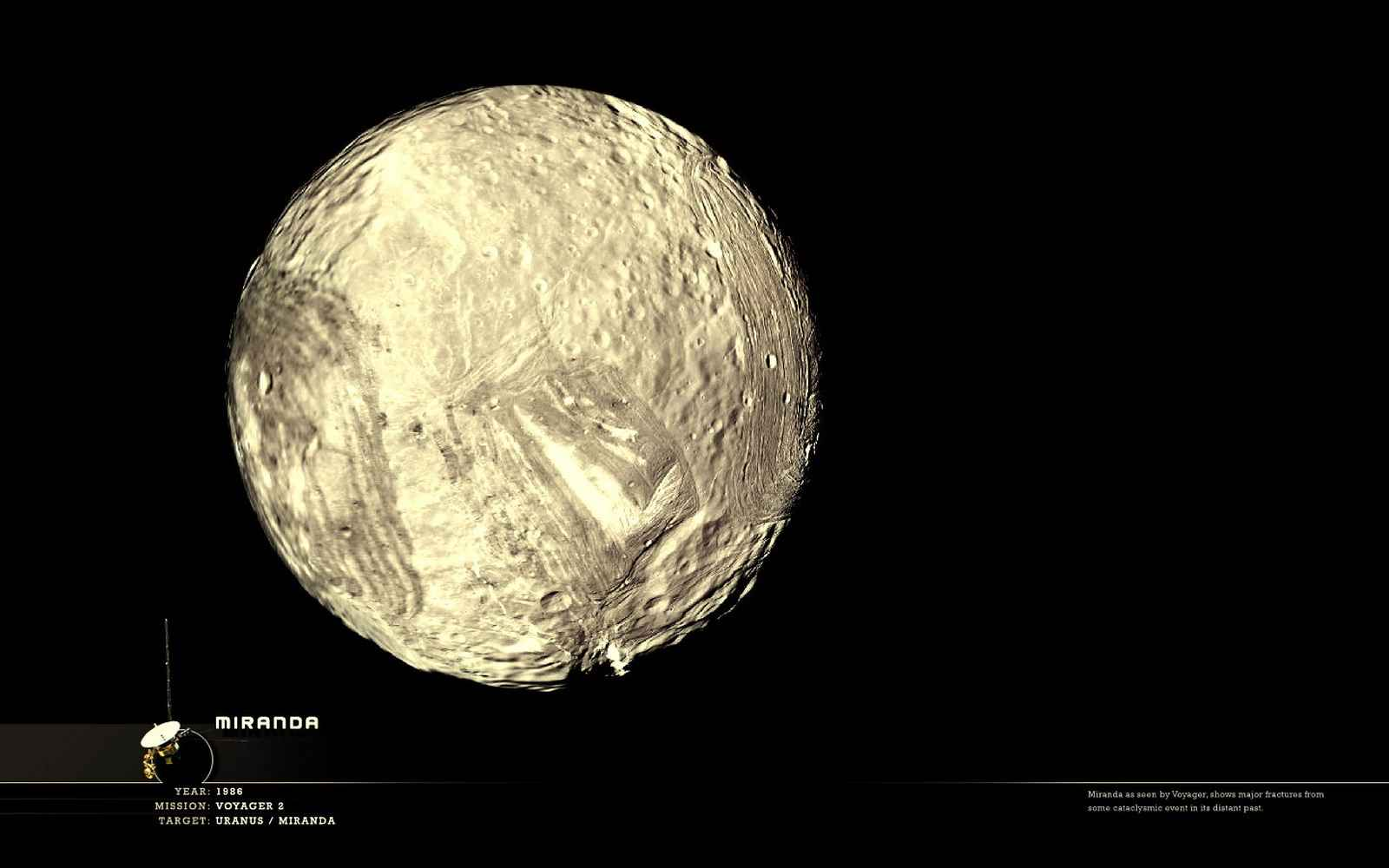 Спутник Урана Миранда